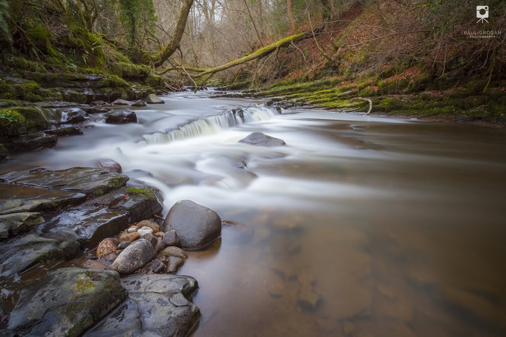This image of a Lancashire brook is a recent donation to Focus Clinics of London.